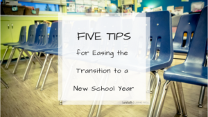 special needs tips for new school year transition